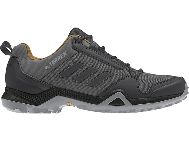 adidas TERREX AX3 Kengät Miehet, grey five/core black/mesa